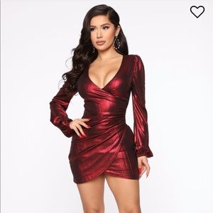 Fashion Nova- Best Behavior Mini Dress